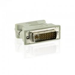 4World Adaptér DVI-A 24M - VGA 15F Gray 06094