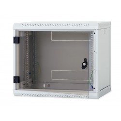 Nástěnný rack RUA 18U/400mm odn.boč+skl.dv. RUA-18-AS4-CAX-A1