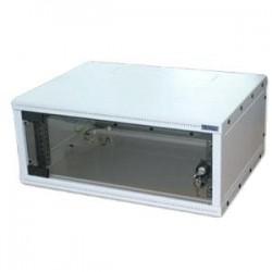 """19""""rozvaděč jednodílný 9U/400mm FLAT-PACK skl.dv. RXA-09-AS4-CAX-A1"""