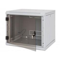 Nástěnný rack RUA 9U/500mm odn.boč+skl.dv. RUA-09-AS5-CAX-A1