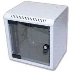 """10"""" rack jednodílný 9U/260 TRITON šedý dveře sklo RBA-09-AS3-CAX-C1"""