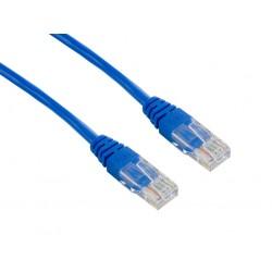 4World Patch kabel RJ45 Cat5e UTP 3.0m Blue 04719