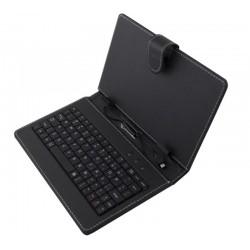 Esperanza EK127 MADERA klávesnica+puzdro pre tablet 7.85/8,USB, eko koža, čierne EK127 - 5901299908419