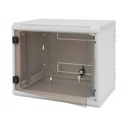 Nástěnný rack jednodílný 15U (š)600x(h)595 perf.dv RBA-15-LS6-CAX-A1