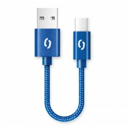 ALIGATOR PREMIUM 2A kabel, 50cm USB-C, modrá DATKP40