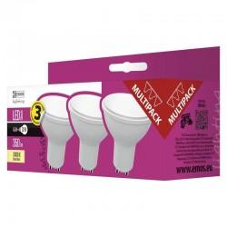 EMOS LED ŽÁROVKA CLASSIC MR16 4,5W GU10 teplá bílá 3ks 1525730201