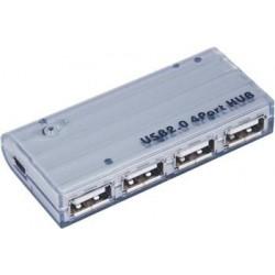 PremiumCord USB 2.0 HUB 4-portový V2.0, bez napáj. ku2hub4wm
