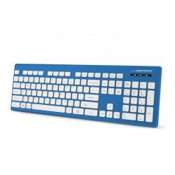 Esperanza EK130B Káblová, vodovzdorná klávesnica USB - SINGAPORE EK130B - 5901299925799