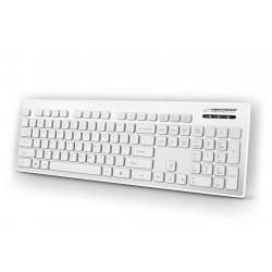 Esperanza EK130W Káblová, vodovzdorná klávesnica USB - SINGAPORE EK130W - 5901299925782