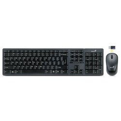 GENIUS SlimStar 8000 USB black, 2.4GHz, bezdrôt. sada klávesnica + myš, CZ + SK 31340045111