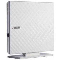 ASUS DVD-/+RW 8x, white, externí, USB 2.0, Retail SDRW-08D2S-U LITE/WHT/G/AS