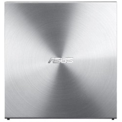 Asus DVD+/-RW 08U5S, externá tenká, 24x, strieborný SDRW-08U5S-U/SIL/G/AS
