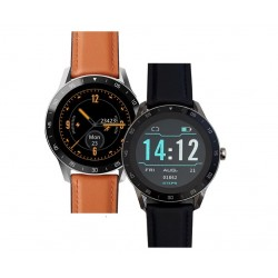 """iGET BLACKVIEW GX1 Brown - chytré hodinky, 5 ATM,LCD 1.3"""",260mAh,..."""