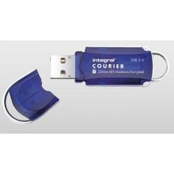 INTEGRAL Courier 16GB USB 3.0 flashdisk, AES 256 bit šifrovanie, FIPS 197 INFD16GCOU3.0-197