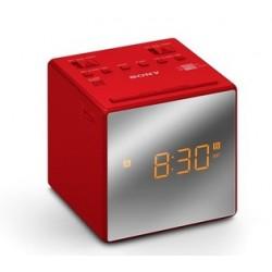 Sony radiobudík ICF-C1T, Duální alarm, červený ICFC1TR.CED