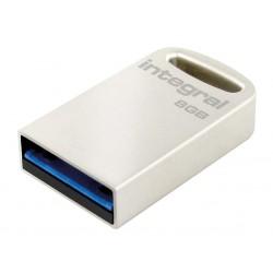 INTEGRAL Fusion 8GB USB 3.0 flashdisk (čítanie až 80MB/s; zápis až 5MB/s) INFD8GBFUS3.0