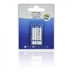 WE Nabíjecí baterie AAA 1100mAh Ni-MH 2ks 08349