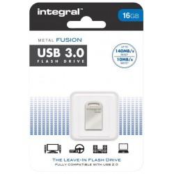INTEGRAL Fusion 16GB USB 3.0 flashdisk (čítanie až 140MB/s; zápis až 10MB/s) INFD16GBFUS3.0