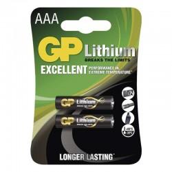 Lithiová baterie GP AAA - 2ks 1022000412