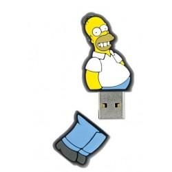 INTEGRAL The Simpsons, Homer 8GB USB 2.0 flashdisk, pogumovaný silikón INFD8GBHOMER