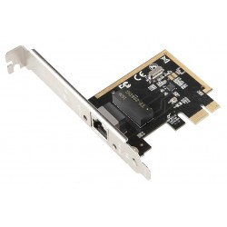 EVOLVEO PCIe Gigabit Ethernet Card 10/100/1000 Mbps, rozšiřující...