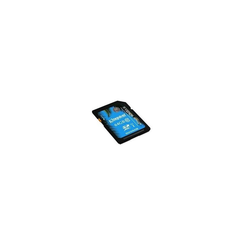 KINGSTON SDHC card 64GB Class10 UHS-I SDA10/64GB