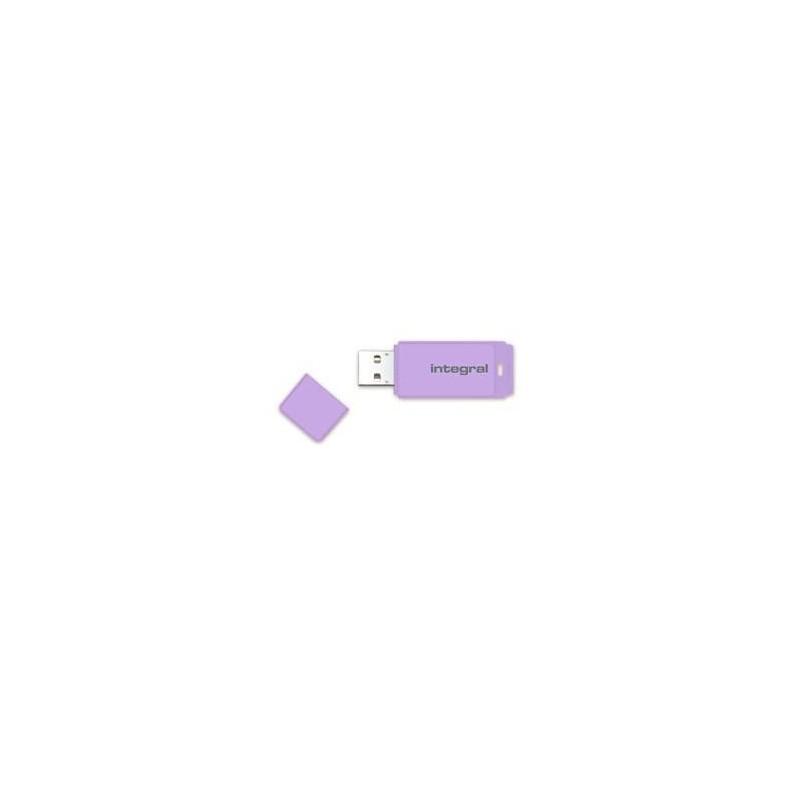 INTEGRAL Pastel 16GB USB 2.0 flashdisk, Lavender Haze INFD16GBPASLH
