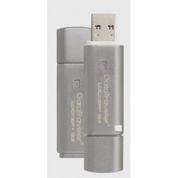 Kingston DataTraveler Locker+ G3 64GB USB 3.0, 100% HW šifrovanie, kovový DTLPG3/64GB