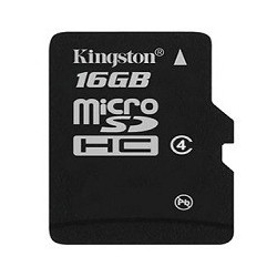 Kingston Micro SDHC Card SP 16GB Class4 bez adapt SDC4/16GBSP