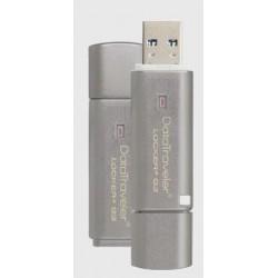 Kingston DataTraveler Locker+ G3 8GB USB 3.0, 100% HW šifrovanie, kovový DTLPG3/8GB