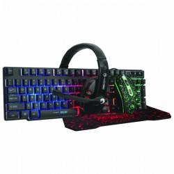 Marvo CM370, Sada: klávesnica s myšou, podložkou a slúchad., herná,...