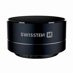 SWISSTEN bluetooth reproduktor, i-METAL, 3W, čierny, regulácia...