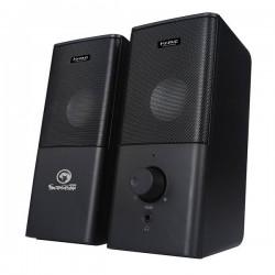 Marvo reproduktory SG-117, 2.0, 6W, čierne, regulácia hlasitosti,...