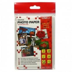 "Logo foto papier, lesklý, biely, 10x15cm, 4x6"", 260 g/m2,..."