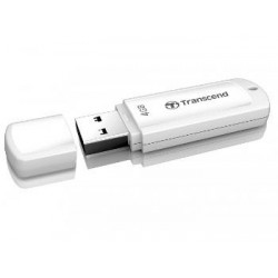 Transcend JetFlash 370 flashdisk USB 2.0 4GB, JetFlash Elite SW, biely TS4GJF370