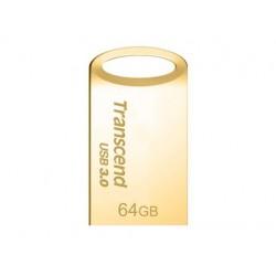 Transcend JetFlash 710 flashdisk 64GB, USB 3.0, pozlátený TS64GJF710G