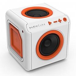 POWERCUBE reproduktor AudioCube, interní, 1.0, 20W, bielo-oranžový,...