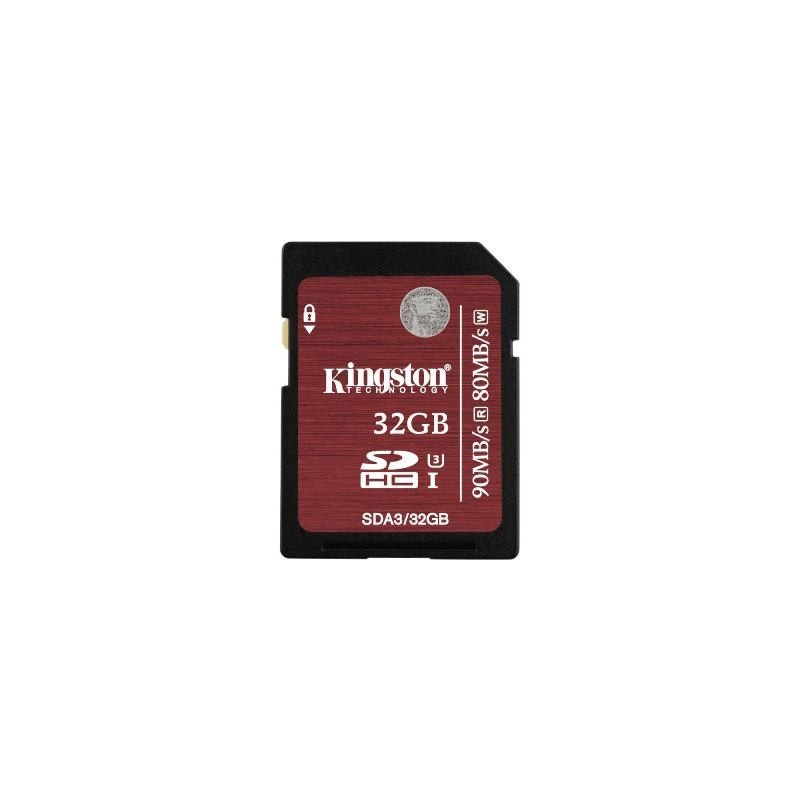 KINGSTON SDHC card 32GB Class10 UHS-I U3 SDA3/32GB