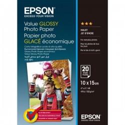 Epson Value Glossy Photo Paper, foto papier, lesklý, biely,...