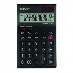 Sharp Kalkulačka EL-124TWH, čierno-biela, stolová, dvanásťmiestna...