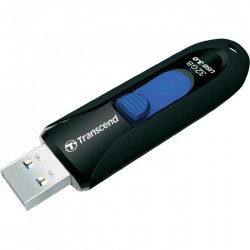 Transcend Jetflash 790 flashdisk 32GB, USB 3.0, výsuvný konektor, čierný TS32GJF790K
