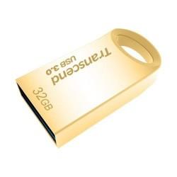 Transcend JetFlash 710 flashdisk 32GB, USB 3.0, pozlátený TS32GJF710G