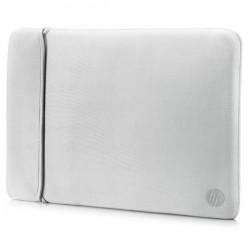 """Sleeve na notebook 14"""", Reversible, strieborný/čierny z..."""