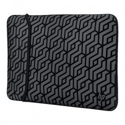 "Sleeve na notebook 14"", Reversible - Geometric, šedý z..."