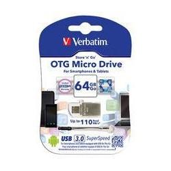 Verbatim USB DRIVE 3.0 OTG MICRO 64GB 49827
