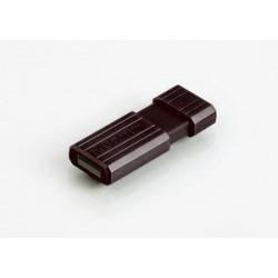 Verbatim PinStripe Series 16GB USB 2.0 flashdisk (10MB/s; 3MB/s), čierny 49063