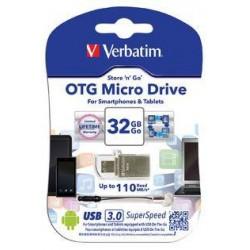 Verbatim USB DRIVE 3.0 OTG MICRO 32GB 49826