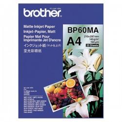 Brother Matte Inkjet Paper, foto papier, matný, biely, A4, 145...