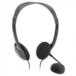 Defender Aura HN-102, slúchadlá s mikrofónom, ovládanie hlasitosti,...