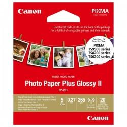 Canon Photo Paper Plus II, lesklý, štvorcový biely, PIXMA TS9500,...